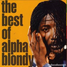 CDs de Música: ALPHA BLONDY - THE BEST OF ALPHA BLONDY. Lote 222479681