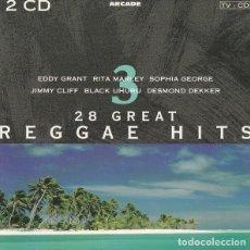 CDs de Música: VARIOUS – 28 GREAT REGGAE HITS. Lote 222481828