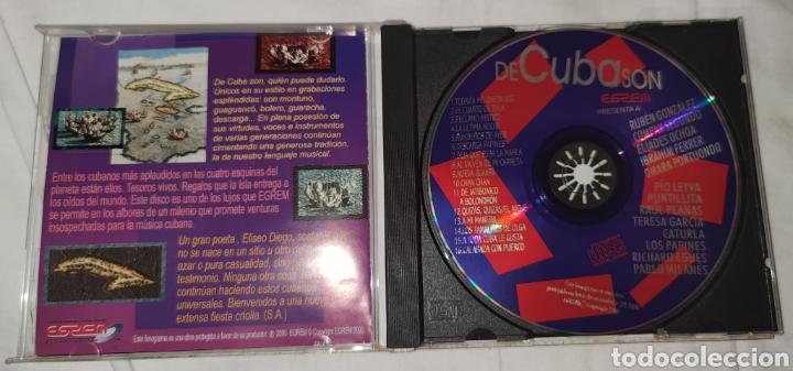 CDs de Música: VERSIONES ORIGINALES DE CUBA SON - EGREM – CD 0397 - Latin, Folk, World, & Country, Afro-Cuban, Son - Foto 2 - 222486542