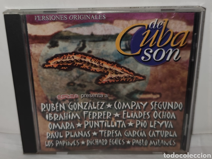 VERSIONES ORIGINALES DE CUBA SON - EGREM – CD 0397 - LATIN, FOLK, WORLD, & COUNTRY, AFRO-CUBAN, SON (Música - CD's Latina)