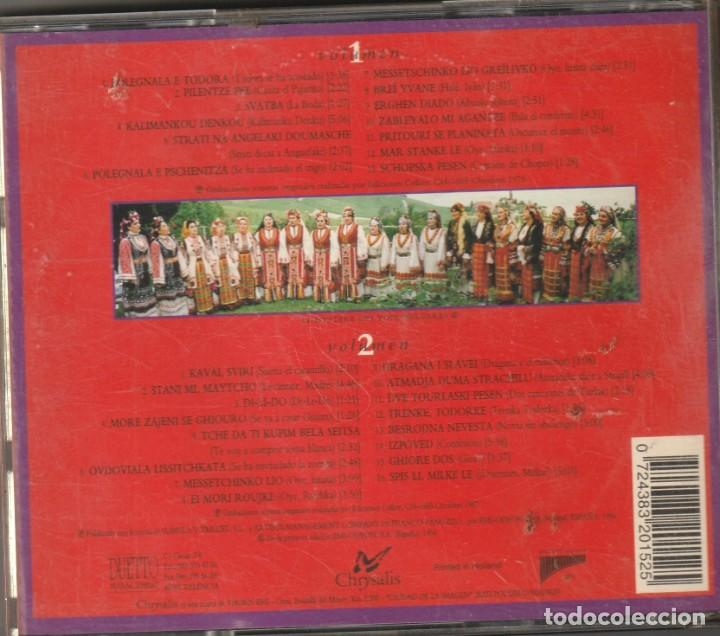 DOBLE CD EL MISTERIO DE LAS VOCES BULGARAS . 1994. CHRYSALIS (Música - CD's World Music)