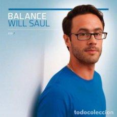 CDs de Música: 3 CD WILL SAUL - BALANCE 015 - AUSTRALIA - GATEFOLD COVER - DIGIPACK - NUEVO / PRECINTADO #. Lote 222493185