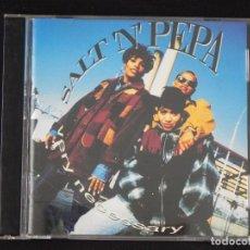 "CDs de Música: SALT ´ N ´ PEPA: VERY NECESSARY, CD FFRR 828 454-2. EU, 1993. CHERYL JAMES, DEIDRA ""SPIN"" ROPER. Lote 222496286"