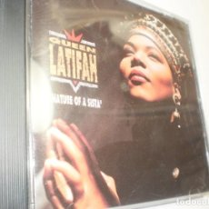 CDs de Música: CD QUEEN LATIFAH. NATURE OF A SISTA'. TOMMY BOY 1991 USA 11 TEMAS (BUEN ESTADO). Lote 222505351