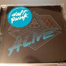CDs de Música: DAFT PUNK. ALIVE. 2007. EMI. HOUSE.. Lote 222507922