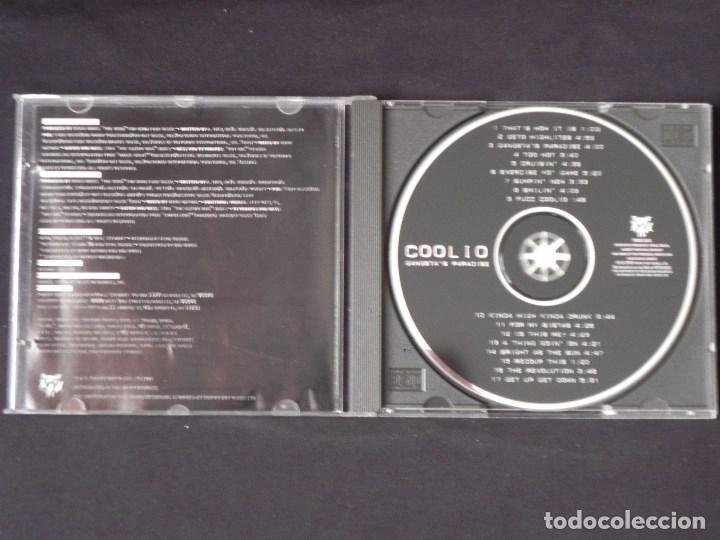 CDs de Música: Coolio: Gangstas Paradise, CD Tommy Boy TBCD 1141. UK, 1995 - Foto 2 - 222510645
