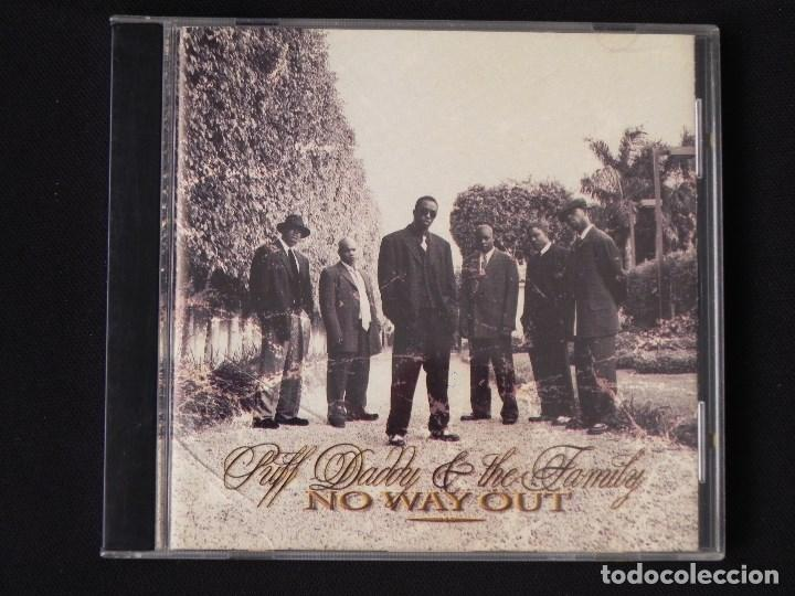 PUFF DADDY & THE FAMILY: NO WAY OUT, CD PUFF DADDY RECORDS 78612 73012 2. SPAIN, 1997 (Música - CD's Hip hop)