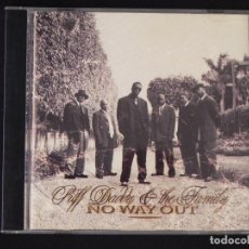 CDs de Música: PUFF DADDY & THE FAMILY: NO WAY OUT, CD PUFF DADDY RECORDS 78612 73012 2. SPAIN, 1997. Lote 222510891