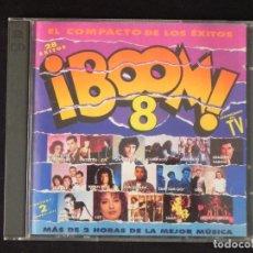 CDs de Música: VVAA: BOOM 8, 2XCD EMI 7811412. SPAIN, 1992. QUEEN, OBK, LUZ, ROXETTE, LOS ROMEOS, OLE OLE, SNAP. Lote 222511203