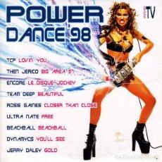CDs de Música: CD EP POWER DANCE '98 - BIT MUSIC PCD-150 - PROMO - 4 TEMAS - CARDSLEEVE (EX/EX)Ç. Lote 222511380