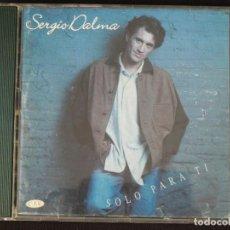 CDs de Música: SERGIO DALMA: SOLO PARA TÍ, CD HORUS CD-37004. SPAIN, 1993. Lote 222511413