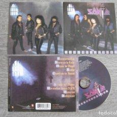 CDs de Música: SANTA: REENCARNACION / BARON ROJO, OBUS, PANZER, EVO, BANZAI, ÑU, SOBREDOSIS, ZEUS, GOLIATH.... Lote 222533550
