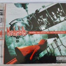 CDs de Música: MURDERDOLLS. BEYOND THE VALLEY OF THE MURDERDOLLS. EDICIÓN ESPECIAL. 5 TEMAS EXTRA. HORROR PUNK, USA. Lote 222534058