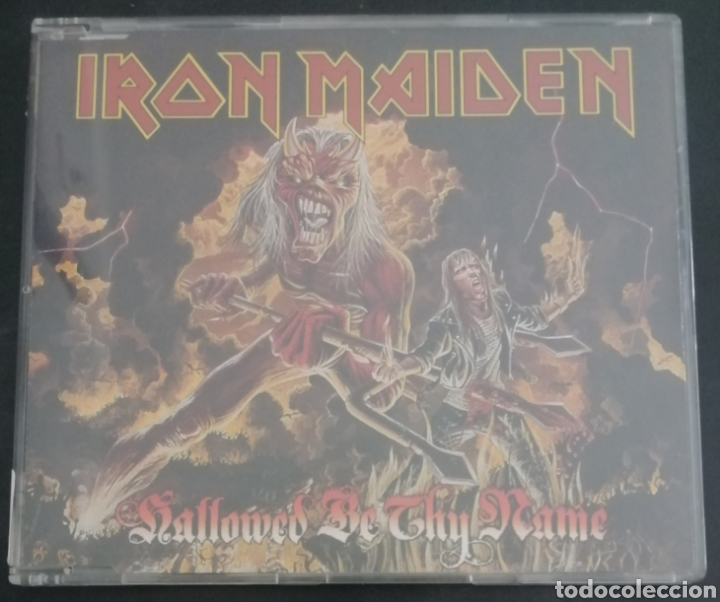 IRON MAIDEN - HALLOWED BE THY NAME (Música - CD's Heavy Metal)