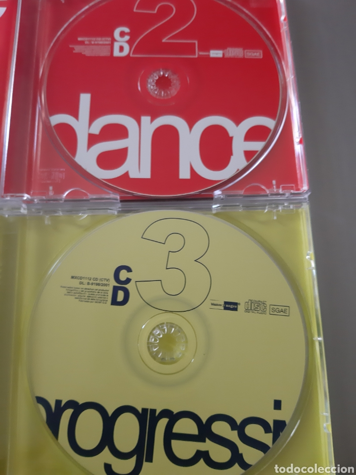 CDs de Música: LOTE ANUAL. 2 DANCE. 3 PROGRESSIVE. - Foto 3 - 222537167