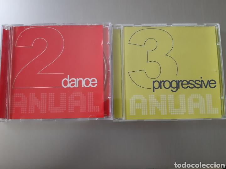 LOTE ANUAL. 2 DANCE. 3 PROGRESSIVE. (Música - CD's Disco y Dance)