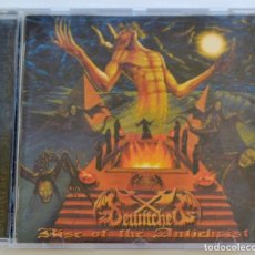 CDs de Música: BEWITCHED. RISE OF THE ANTICHRIST. CD Y LIBRETO. BANDA SUECA. SPEED Y BLACK METAL.OSMOSE PRODUCTIONS. Lote 222541186