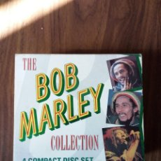 CDs de Música: THE BOB MARLEY COLLECTION - 4 COMPACT DISC SET. Lote 222542821