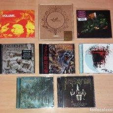 CDs de Música: LOTE 8 CDS STONER ROCK - DOOM METAL [PENTAGRAM, REVELATION, WINO, MOURN...]. Lote 222549232
