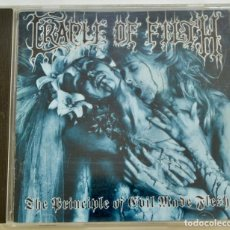 CDs de Música: CRADLE OF FILTH. THE PRINCIPLE OF EVIL MADE FLESH. METAL GÓTICO. CACOPHONOUS RECORDS.INGLATERRA 1994. Lote 222552106