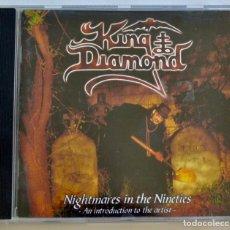 CDs de Música: KING DIAMOND. NIGHTMARES IN THE NINETIES. CD + LIBRETO. BLACK METAL SUECIA. MASSACRE RECORDS. 2001. Lote 222553237