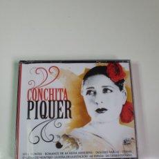 CDs de Música: CONCHITA PIQUER, 2 CD, NUEVO SIN ESTRENAR PRECINTO ORIGINAL.. Lote 222558250