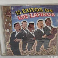 CDs de Música: CD - 15 EXITOS DE LOS ZAFIROS - EGREM - CD0087 00 - 1994 - FILIN, DOO-WOP, BALADAS, R&B, CALYPSO. Lote 222559212