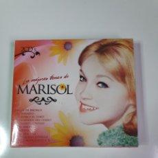 CDs de Música: MARISOL, LOS MEJORES TEMAS, 2 CD, NUEVO SIN ESTRENAR PRECINTO ORIGINAL.. Lote 222560468