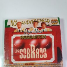 CDs de Música: LOS SOBRAOS, 2 CD, NUEVO SIN ESTRENAR PRECINTO ORIGINAL, 10° ANIVERSARIO RUMBA, REGGAETON.. Lote 222561093