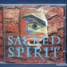 CDs de Música: SACRED SPIRIT - CHANTS AND DANCES OF THE NATIVE AFRICANS - CD. Lote 222569005