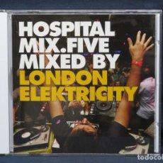 CDs de Música: LONDON ELEKTRICITY - HOSPITAL MIX.FIVE - CD. Lote 222569212