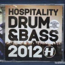 CDs de Música: VARIOS - HOSPITALITY DRUM & BASS 2012 - CD. Lote 222569396