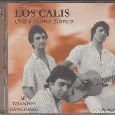 CDs de Música: LOS CALIS DOBLE CD UNA PALOMA BLANCA 2000 30 GRANDES CANCIONES. Lote 222573915