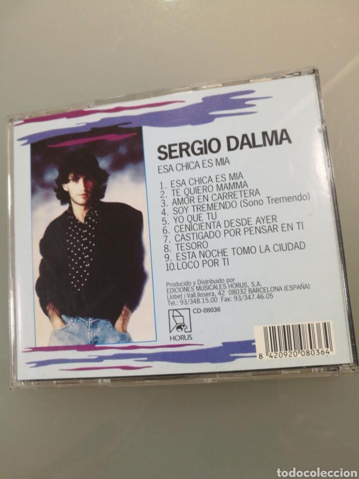 CDs de Música: Sergio Dalma - Esa chica es mía (+CD regalo Cuerpo a Cuerpo) - Foto 2 - 222578442