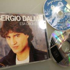 CDs de Música: SERGIO DALMA - ESA CHICA ES MÍA (+CD REGALO CUERPO A CUERPO). Lote 222578442