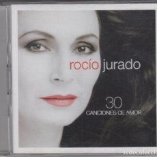 CDs de Música: ROCÍO JURADO DOBLE CD 30 CANCIONES DE AMOR 2007 SPAIN. Lote 222578647