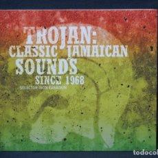 CDs de Música: VARIOS - TROJAN: CLASSIC JAMAICAN SOUNDS SINCE 1968 - CD. Lote 222580756