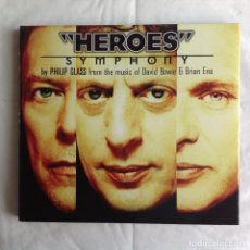 CDs de Música: PHILIP GLASS - HEROES. Lote 222582180
