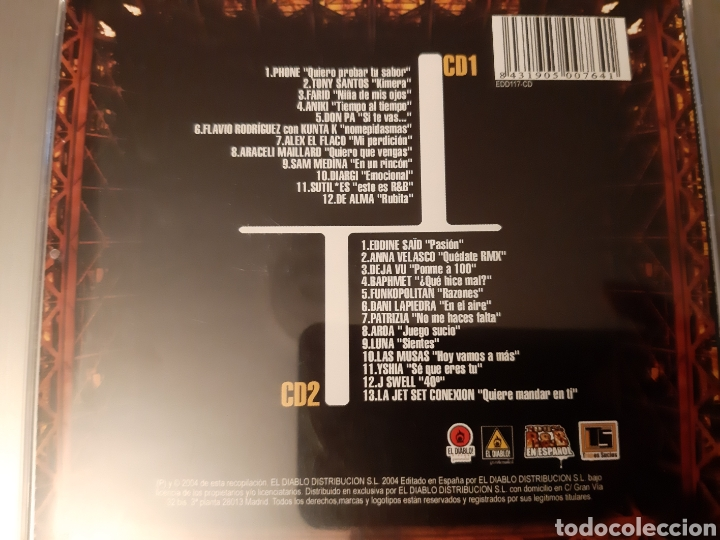 CDs de Música: 100% R&B EN ESPAÑOL. 2 CDS. - Foto 4 - 222585331