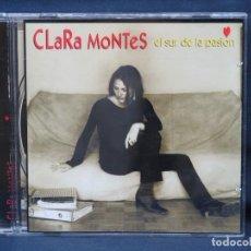 CDs de Música: CLARA MONTES - EL SUR DE LA PASION - CD. Lote 222591198