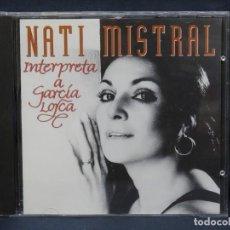 CDs de Música: NATI MISTRAL - NATI MISTRAL INTERPRETA A LORCA - CD. Lote 222591316