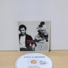 CDs de Música: CD MANUEL DE ANGUSTIAS BORRACHERA DE MELANCOLIA CD SINGLE SOBRE CARTON CARDBOARD SLEEVE PROMO. Lote 222592215