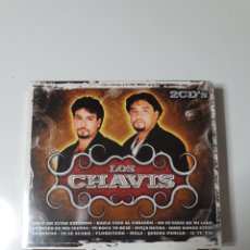 CDs de Música: LOS CHAVIS, 2 CD, NUEVO SIN ESTRENAR PRECINTO ORIGINAL. Lote 222592287