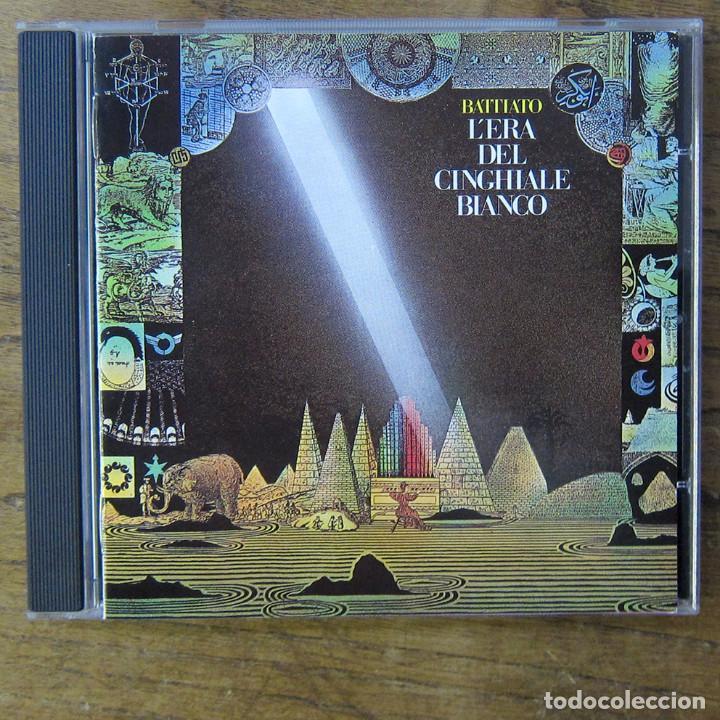 FRANCO BATTIATO - L'ERA DEL CINGHIALE BIANCO (1979) - 1990 - EDICIÓN ITALIANA (Música - CD's World Music)