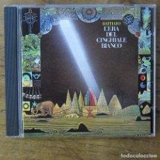 CDs de Música: FRANCO BATTIATO - L'ERA DEL CINGHIALE BIANCO (1979) - 1990 - EDICIÓN ITALIANA. Lote 222597795