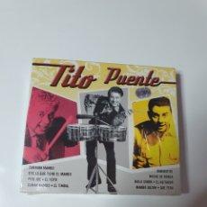 CDs de Música: TITO PUENTE, RECOPILATORIO 2 CD, NUEVO SIN ESTRENAR PRECINTO ORIGINAL.. Lote 222598752