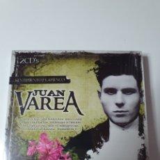 CDs de Música: JUAN VAREA, 2 CD, SENTIMIENTO FLAMENCO, NUEVO SIN ESTRENAR PRECINTO ORIGINAL.. Lote 222599306