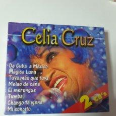 CDs de Música: CELIA CRUZ, RECOPILATORIO, 2 CD, NUEVO SIN ESTRENAR PRECINTO ORIGINAL. Lote 222599672