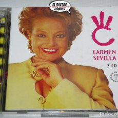 CDs de Música: CARMEN SEVILLA, DOBLE, DOS CD, EMI, 1997. Lote 222607317