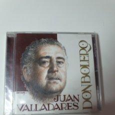 CDs de Música: JUAN VALLADARES, DON BOLERO, NUEVO SIN ESTRENAR PRECINTO ORIGINAL.. Lote 222608426